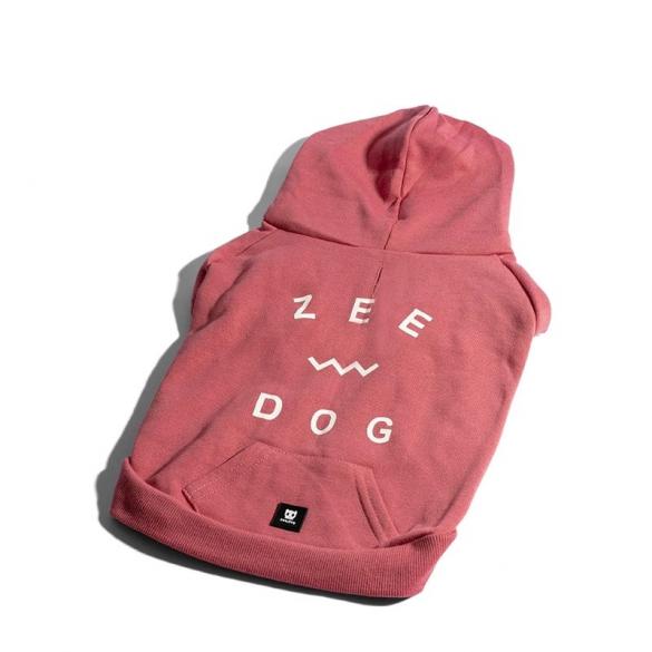 ZEE DOG - FELPA ROSA