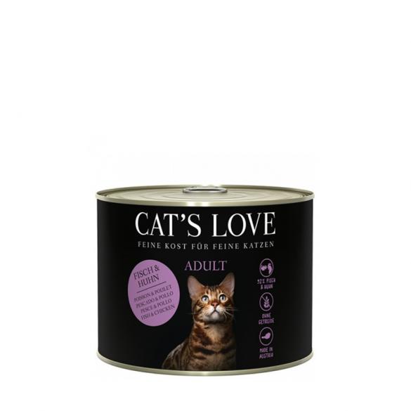 CAT'S LOVE - PESCE E POLLO...