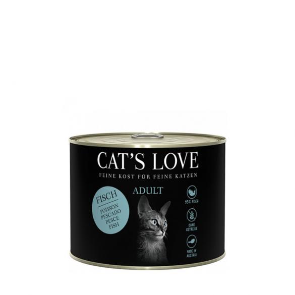 CAT'S LOVE - PESCE CON OLIO...