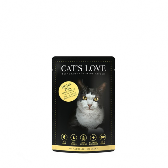 CAT'S LOVE - POLLO CON OLIO...
