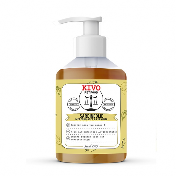 KIVO PET FOOD - OLIO DI...