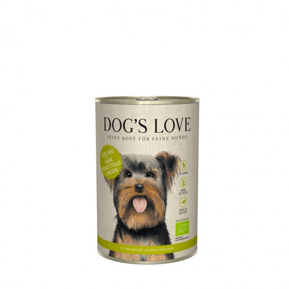 DOG'S LOVE  - BIO POLLO CON...