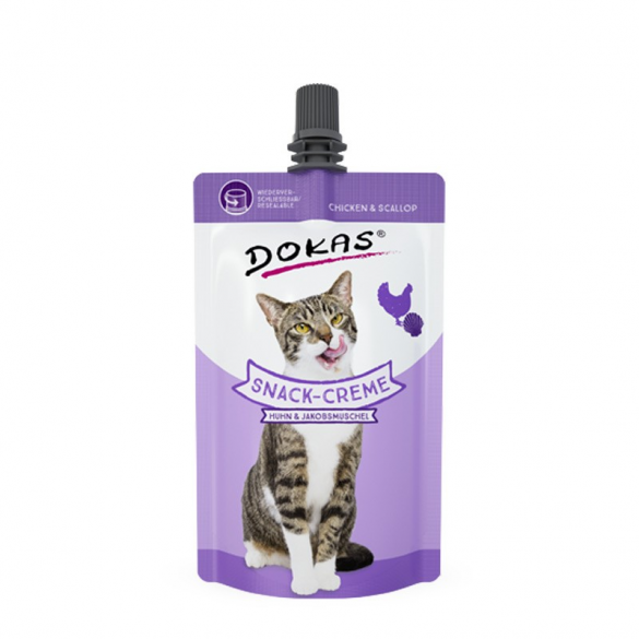 DOKAS - SNACK CREAM - POLLO...